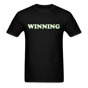 GLOW IN THE DARK WINNING - Men's T-Shirt