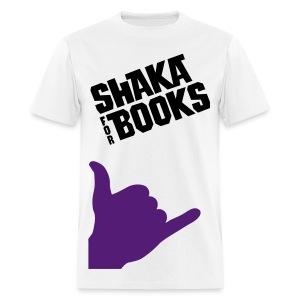 Shaka For Books - The Charlie - Men's T-Shirt