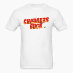 charger suck kc T-Shirts