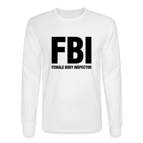 FBI Longsleeve - Men's Long Sleeve T-Shirt