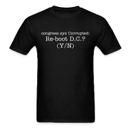 T-Shirts ~ Men's T-Shirt ~ CONGRESS.SYS CORRUPTED
