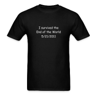 T-Shirts ~ Men's T-Shirt ~ Survived Rapture