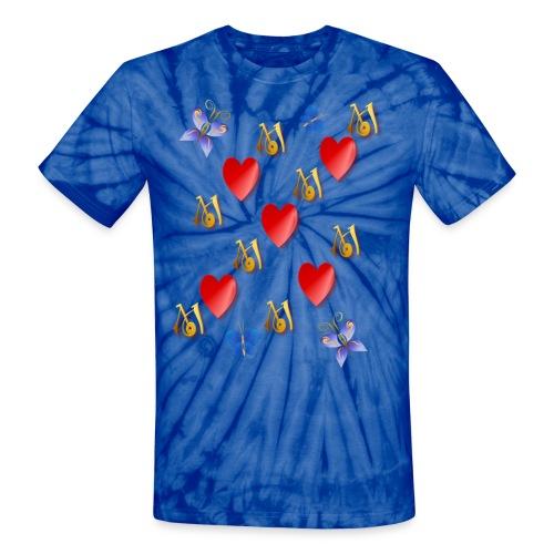 Love Mom - Unisex Tie Dye T-Shirt