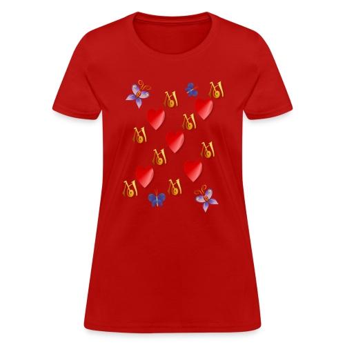 Love Mom - Women's T-Shirt