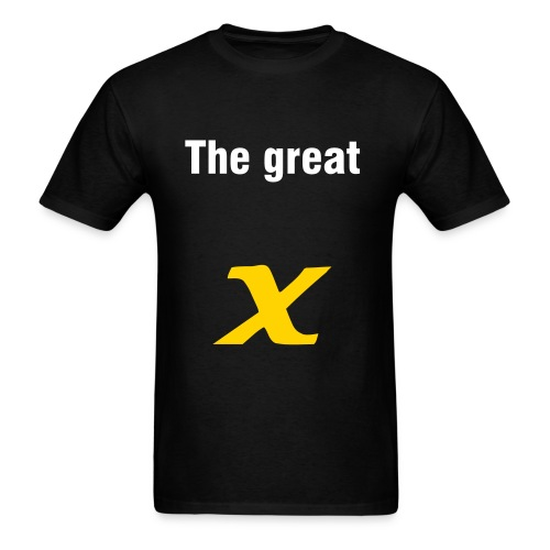 the great x t-shirt - Men's T-Shirt
