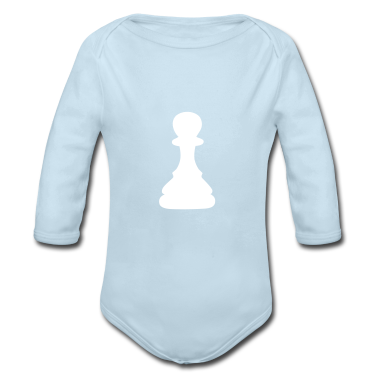 chess pawn Baby Bodysuits