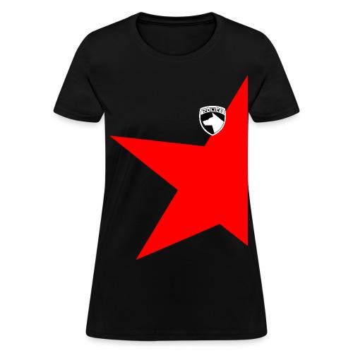 [WOMENS] [EXCLUSIVE] Dekaranger - Red - Women's T-Shirt