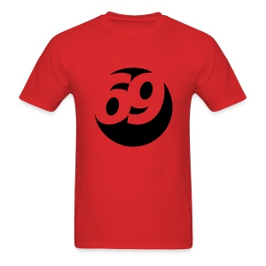 69 (Black) Men's Standard Weight T-Shirt - Men's T-Shirt