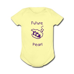 Future Pearl1Z - Short Sleeve Baby Bodysuit