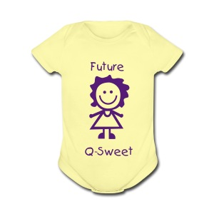Future QSweet 1Z - Short Sleeve Baby Bodysuit