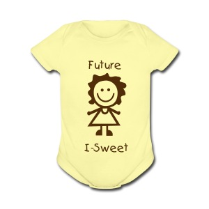 Future IotaSweet1Z - Short Sleeve Baby Bodysuit
