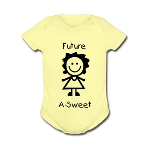 Future ASweet1Z - Short Sleeve Baby Bodysuit