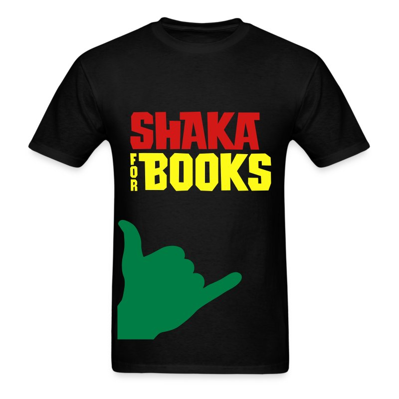 Shaka For Books - The Bob - Men's T-Shirt