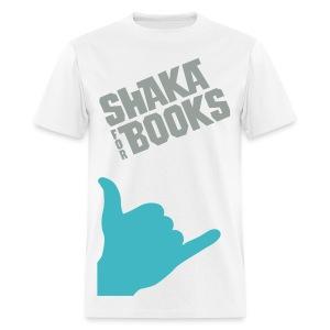 Shaka For Books - The Doug - Men's T-Shirt