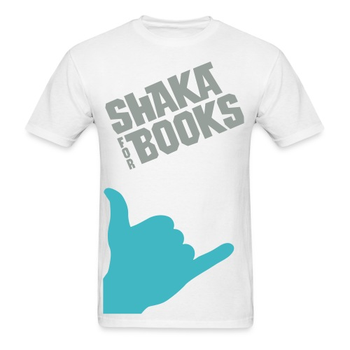 Shaka For Books - The Doug - Men's T-Shirt