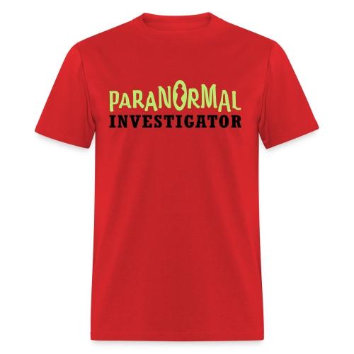 PARANORMAL INVESTIGATOR - Ryukyu Islands Paranormal - Men's T-Shirt