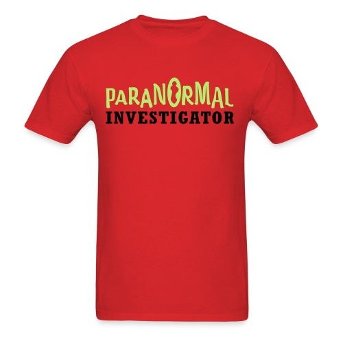 PARANORMAL INVESTIGATOR - Ryukyu Islands Paranormal - Men's T-Shirt