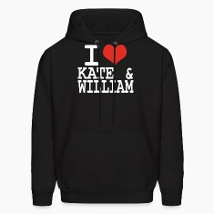 I love Kate and William Hoodies