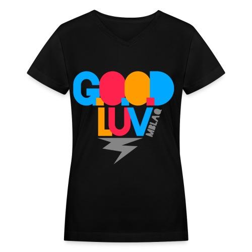 [MBLAQ] G.O.O.D Luv - Women's V-Neck T-Shirt