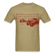 T-Shirts ~ Men's T-Shirt ~ Billy Bob Turn Left! - Redneck NASCAR Bashing T-Shirt