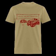 T-Shirts ~ Men's T-Shirt ~ Billy Bob Turn Left! - Redneck NASCAR Bashing T-Shirt