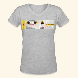 Controlpanel X - Women's V-Neck T-Shirt
