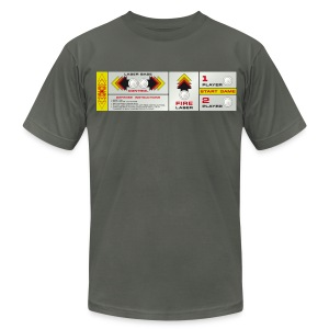 Controlpanel X - Men's T-Shirt by American Apparel