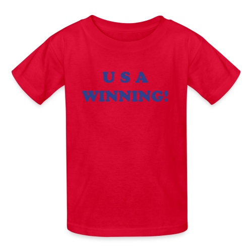 USA WINNING! - Kids' T-Shirt