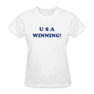 USA WINNING! - Women's T-Shirt