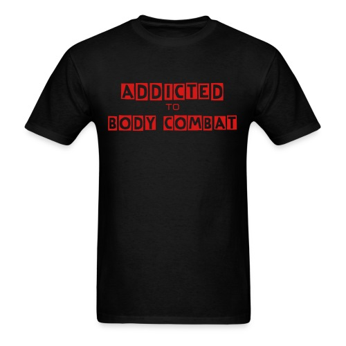 Addicted to Body Combat men's t-shirt - Men's T-Shirt