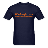 T-Shirts ~ Men's T-Shirt ~ WarBlogle.com - Orange Text