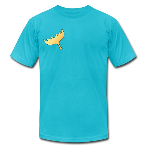 Magiranger - Blue Splash - Men's Fine Jersey T-Shirt