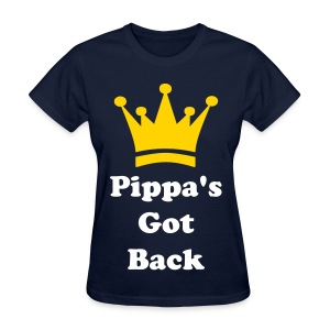 'Pippa's Got Back' Female T-shirt - Women's T-Shirt