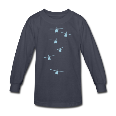 Helicopter Squadron Kids' Shirts