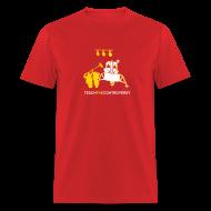 T-Shirts ~ Men's T-Shirt ~ Fake Moon Landing [moon]
