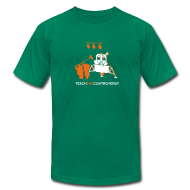 T-Shirts ~ Men's T-Shirt by American Apparel ~ Fake Moon Landing [moon]