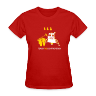 T-Shirts ~ Women's T-Shirt ~ Fake Moon Landing [moon]