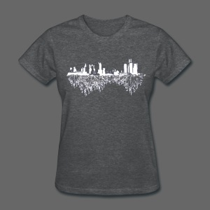 Detroit Skyline With Roots Women's Standard Weight T-Shirt - Women's T-Shirt