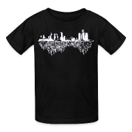 Kids' Shirts ~ Kids' T-Shirt ~ Detroit Skyline With Roots Children's T-Shirt