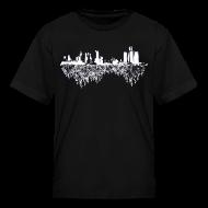 Kids' Shirts ~ Kids' T-Shirt ~ Detroit Skyline With Roots Children's T-Shirt