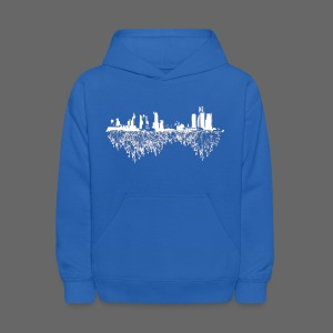 Detroit Skyline With Roots Kid's Hooded Sweatshirt - Kids' Hoodie