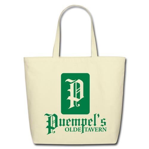 Puempel's Logo Tote Bag - Eco-Friendly Cotton Tote