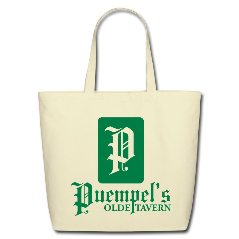 Puempel's Logo Tote Bag - Eco-Friendly Cotton Tote