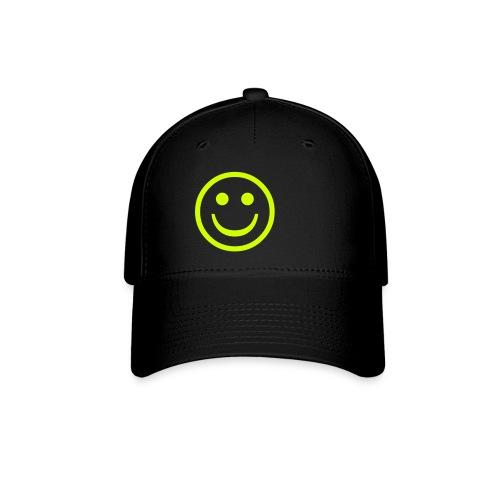 Smiley Black Cap - Baseball Cap