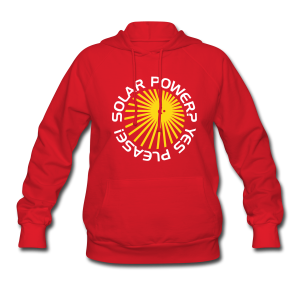 BD Solar Power Girls Hoodie (US) - Women's Hoodie