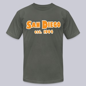 San Diego Est. 1904 - Men's T-Shirt by American Apparel