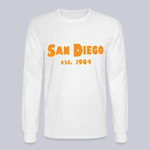 San Diego Est. 1904 - Men's Long Sleeve T-Shirt