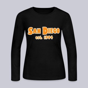 San Diego Est. 1904 - Women's Long Sleeve Jersey T-Shirt