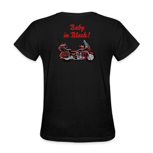 Ladies T Back Voy Neon BabynBlack Custom - Women's T-Shirt