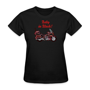 Ladies T Front Voy Neon BabynBlack Custom - Women's T-Shirt